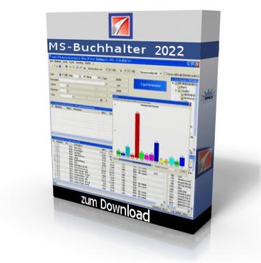 Buchhaltungssoftware MS Buchhalter kostenlos downloaden und testen.